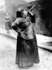 Mary Smith.  Photograph from Philip Davies' Lost London: 1870-1945.